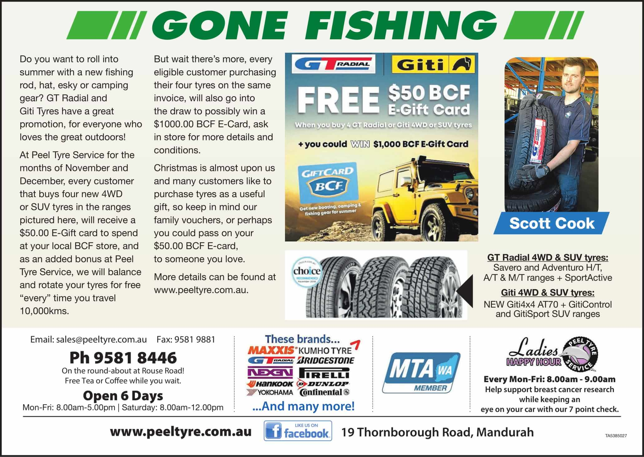 GT Tyres November Special