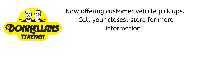 Customer Pick ups