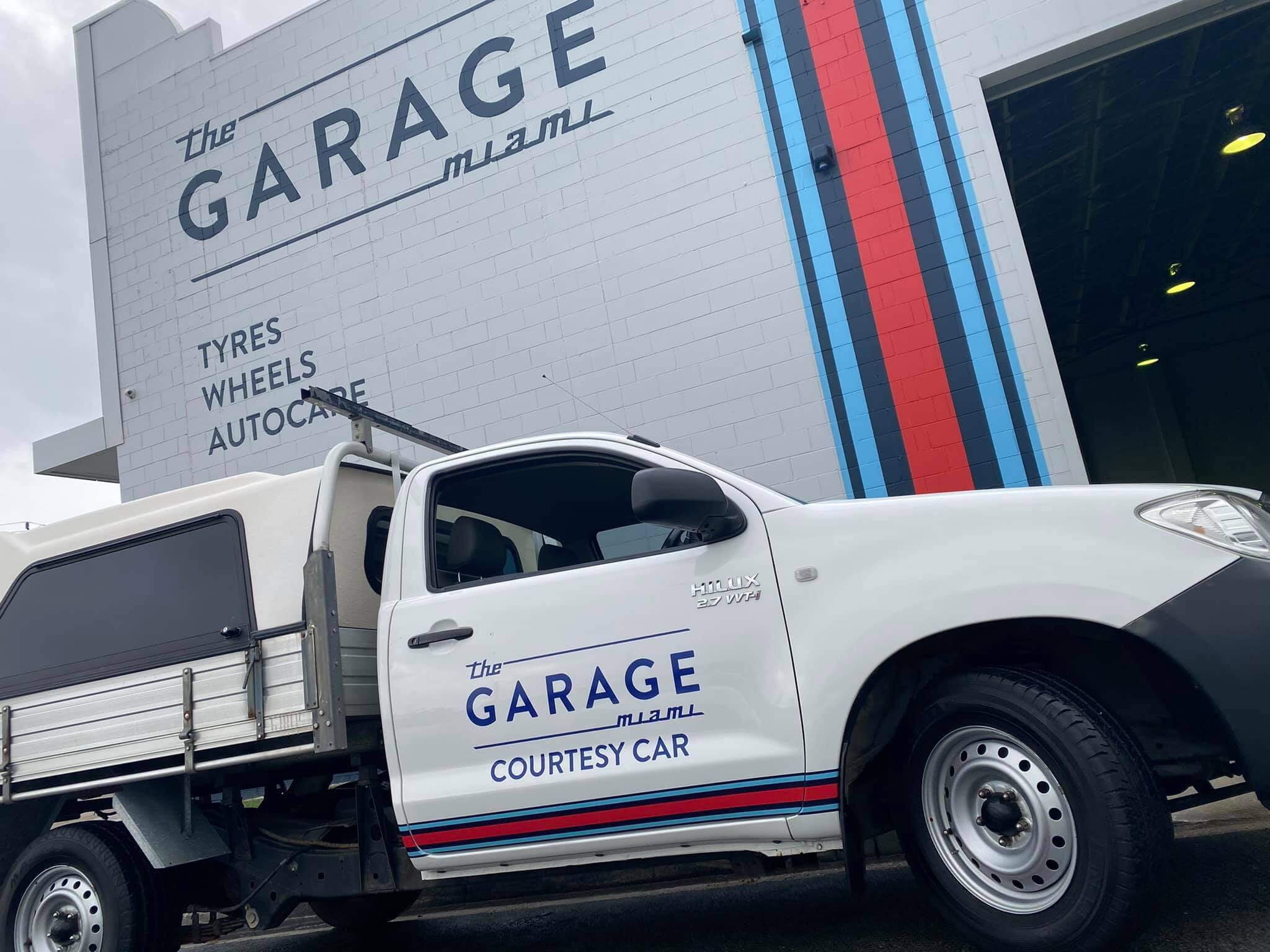 The Garage Miami Offers Tradie Courtesy Ute! cover image