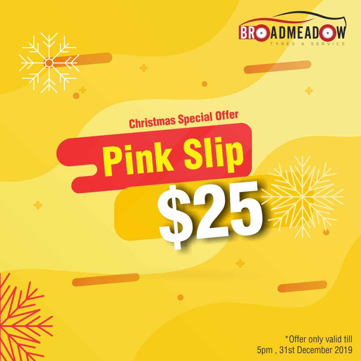 Christmas Specials - Pink Slip