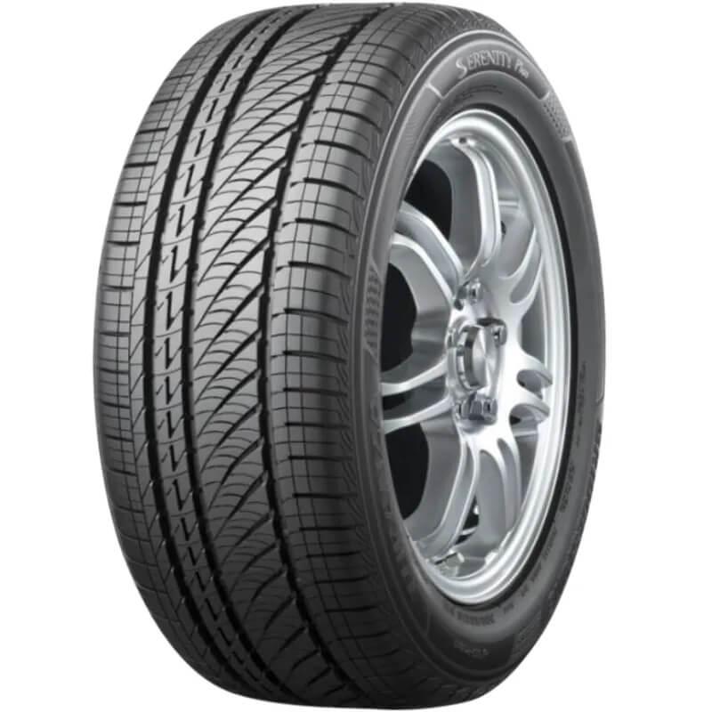 Bridgestone Turanza Serenity ultra low noise tyre showing tread pattern
