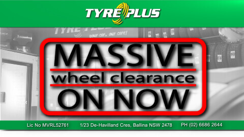 Massive Wheel Clearance On Now