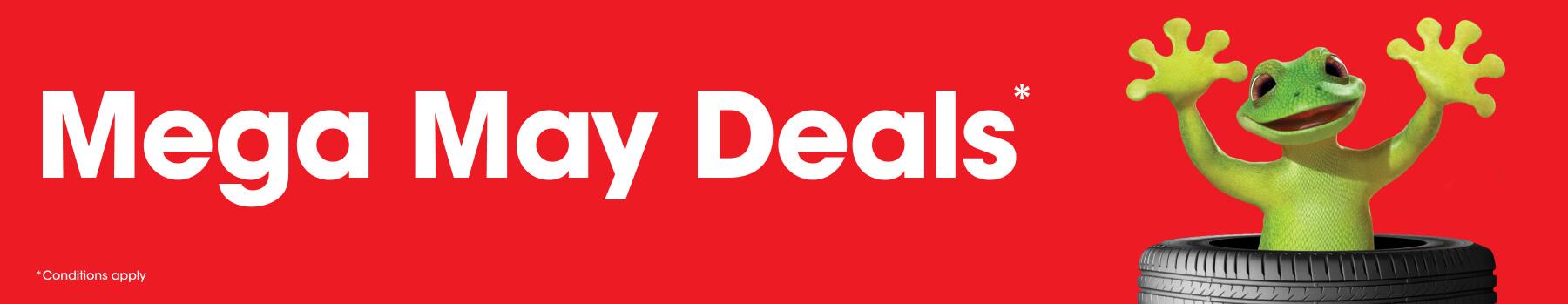May Promotion - Mega May Deals