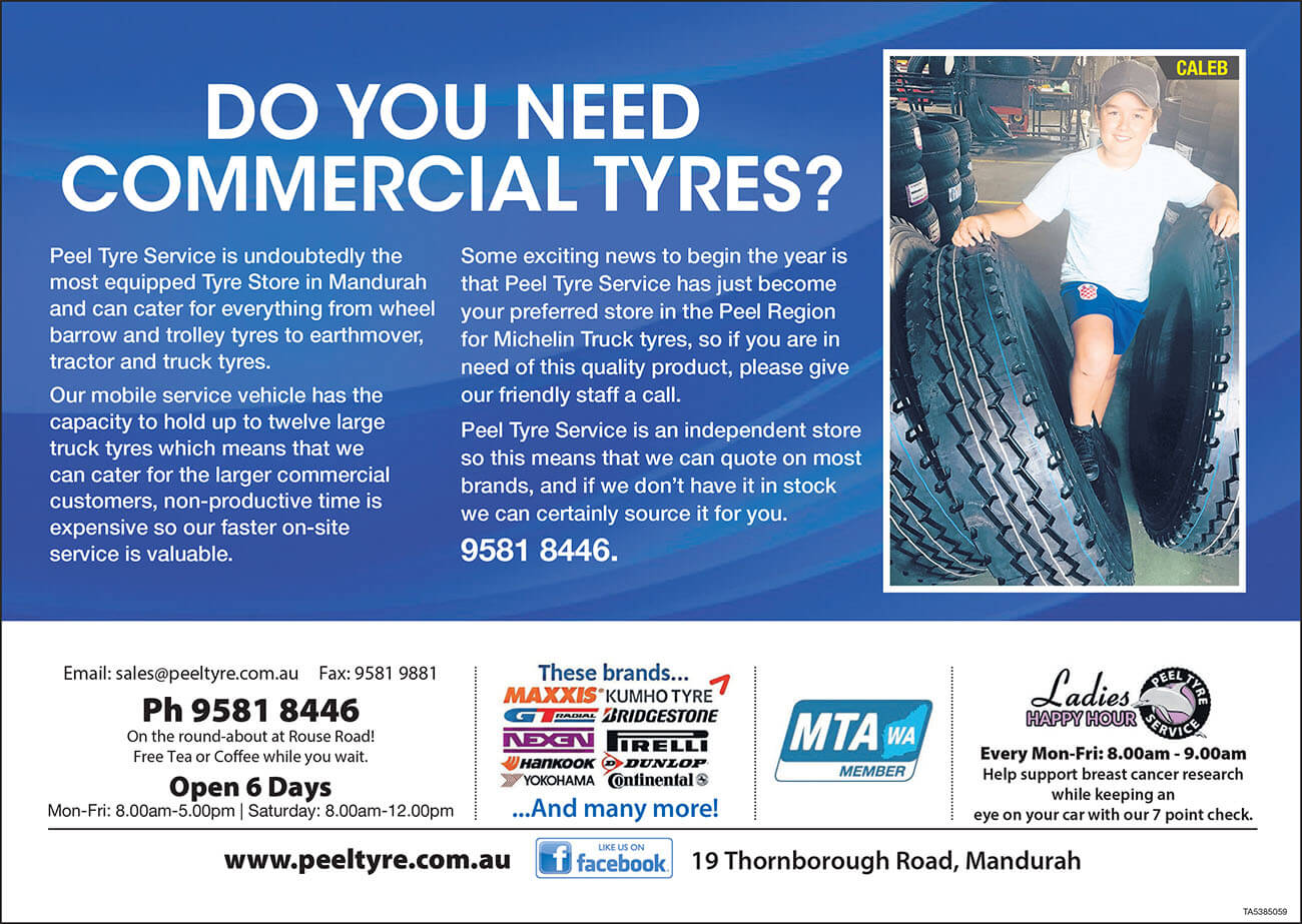 Peel Tyres Commercial Tyres