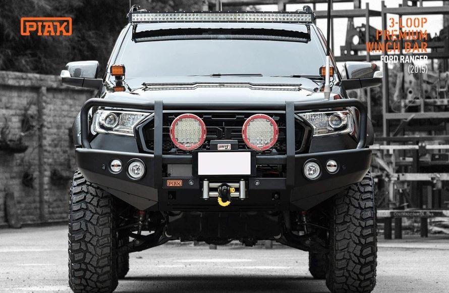 PIAK Premium Winch Bar for Ford Ranger