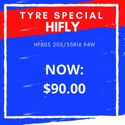 HIFLY HF805 205/55R16 94W