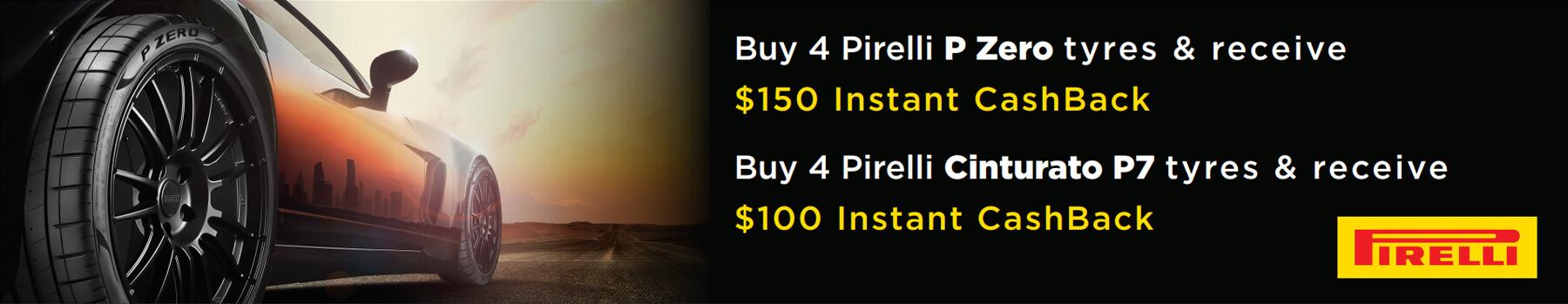 Pirelli Cashback Promotion