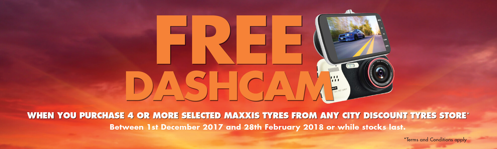 Maxxis free dashcam