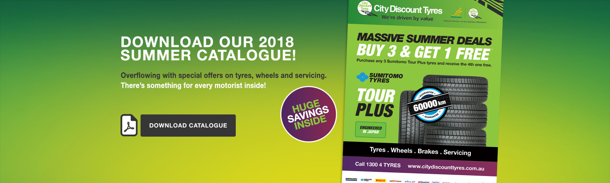 City Discount Tyres catalogue