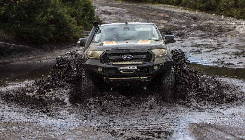 Pirelli Scorpion AT+ mud bath off