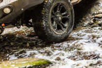Pirelli Scorpion AT+ getting its feet wet