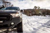Yokohama X-AT G016 profile on the Ford Ranger in the snow
