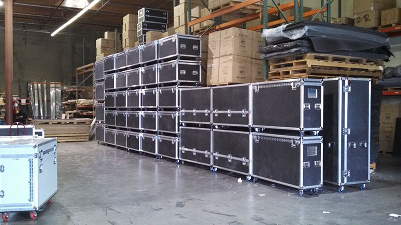 A stack of ProCases, ready to roll