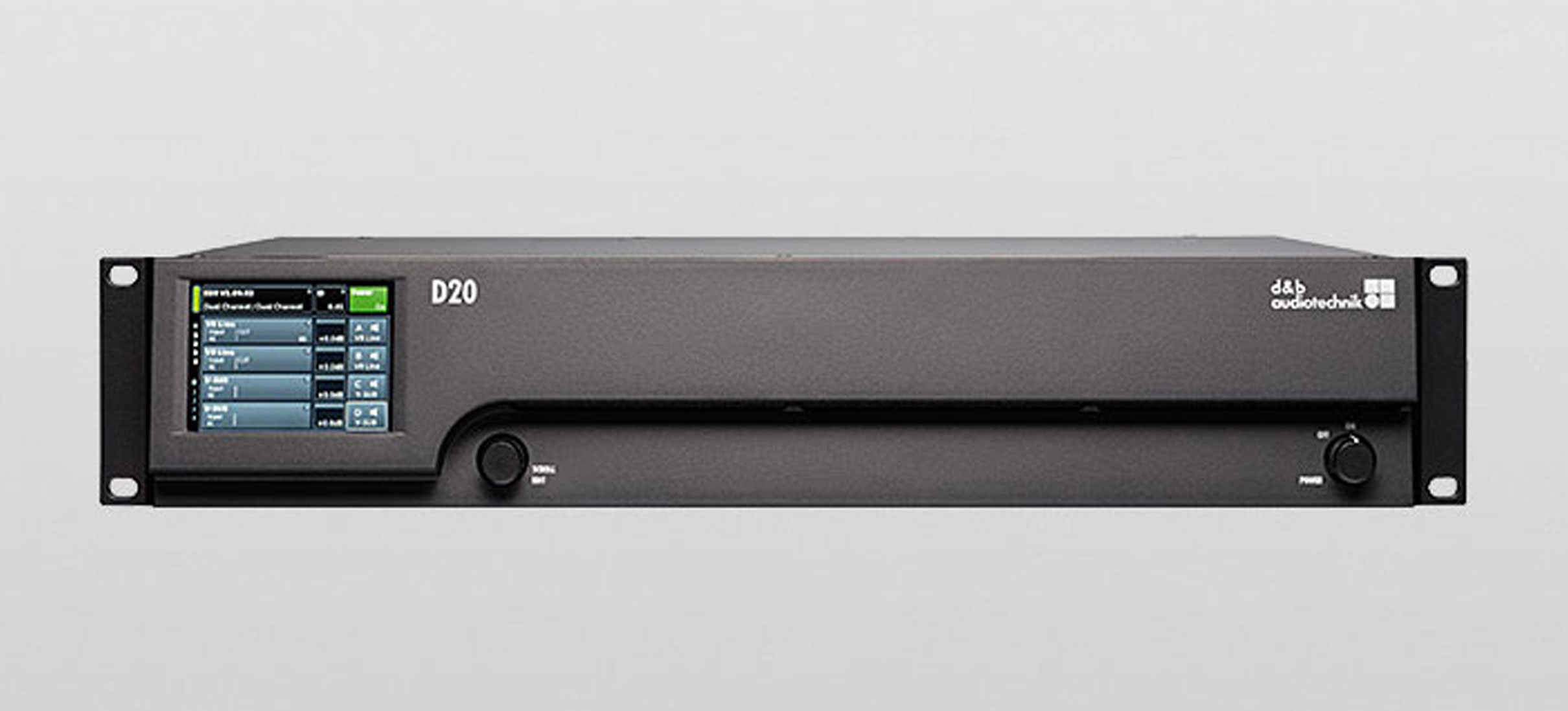 New Product Launch: The D20 Amplifier from d&b audiotechnik