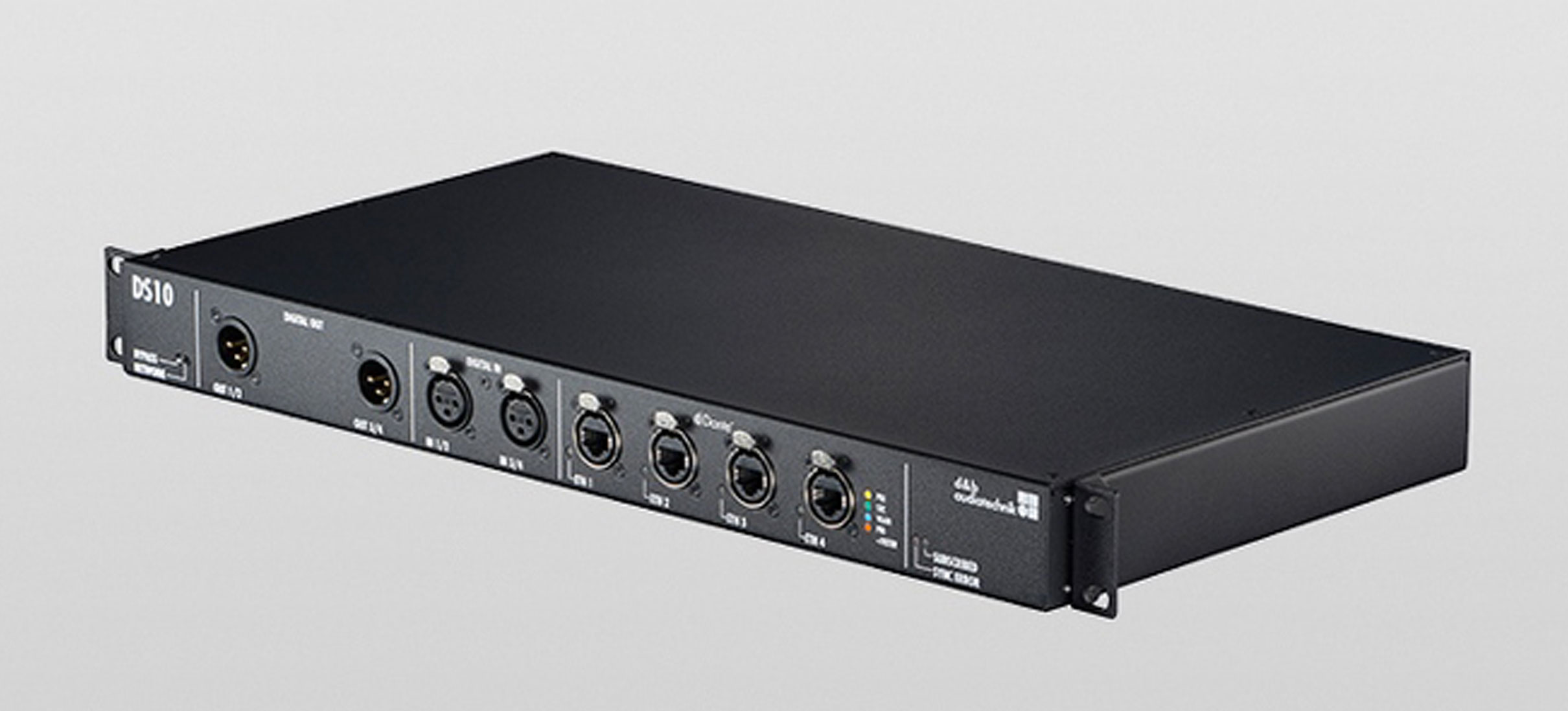 The next step in the d&b system approach: the DS10 Audio network bridge