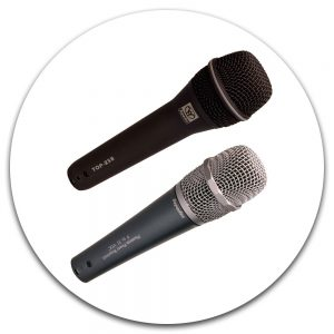 Hand Held Vocal Microphones