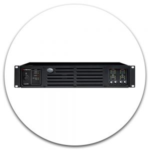 Network Enabled 4 & 8 Channel Power Amps