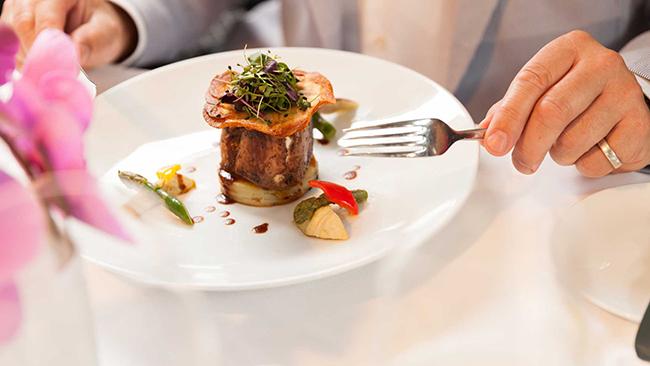 Dine at Portobellos