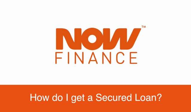 How do I get a secured loan?
