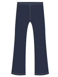 WALR 0273C  BOOTLEG PANT ZIP F