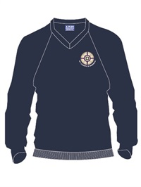 STJM D53C  V NECK WOOL JUMPER