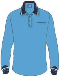 TULA 1163C  LONG SLEEVE POLO