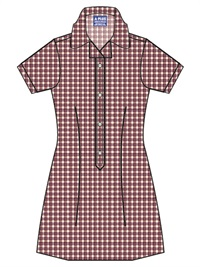 MOSO 20919C  SUMMER CHECK DRES