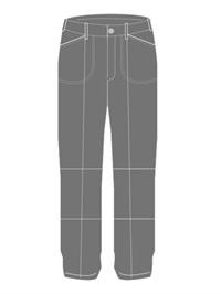 OLMC 7202  BOYS DRILL PANTS