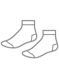 SHOL 016  SOCKS SPORTS PLAIN