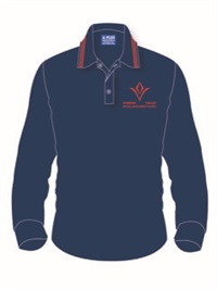 DVWC 2KLP  LONG SLEEVE POLO