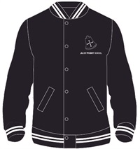 LALR 0512C  BOMBER.WHITE STRIP