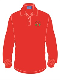 MEGL 1100C  LONG SLEEVE POLO