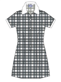 GOSA 20958C  SUMMER CHECK DRES