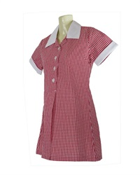 YARG 20914C  GINGHAM CHECK SCH