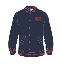 WBNT 0510C  BOMBER.RED STRIPES