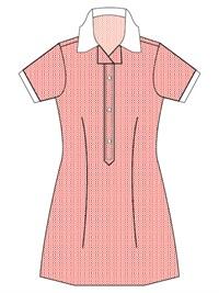 RESV 20760C  CHECK DRESS. ZIP