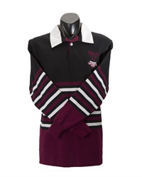 07232C  POLY COTTON KNIT RUGBY