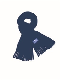 MIPK 15270  POLAR FLEECE SCARF