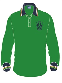 STCB 1201C  LONG SLEEVE POLO