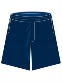 FAJT 17583C  BOYS NAVY SHORTS