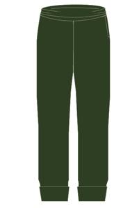 TRDN 0200A  PLAIN TRACK PANTS