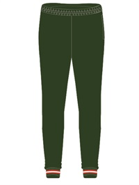 STST 0247C  TRACKPANT WITH CUF