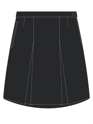 STJC 20016A  WINTER SKIRT