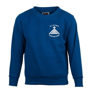 STKN 0100C  FLEECE  CREW NECK
