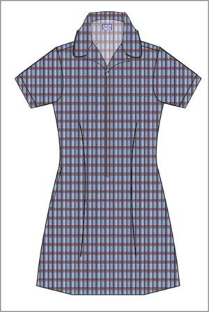 SHOL 20852  ZIP FRONT DRESS.BA