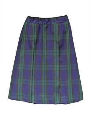 20791A  INVERTED PLEAT SKIRT