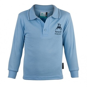 BAYL 11902C  LONG SLEEVE POLO