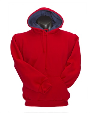 0315A  CONTRAST LINED HOODIE