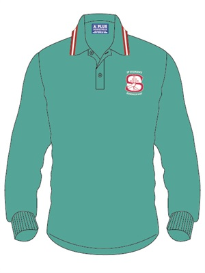STST 1206C  LONG SLEEVE POLO