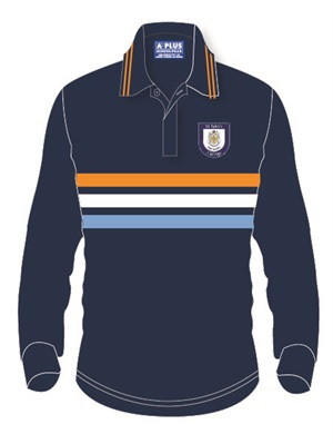 STJC 07385C  SPORTS RUGBY TOP